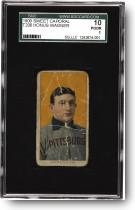 T206 Honus Wagner to be sold by Heritage Galleries