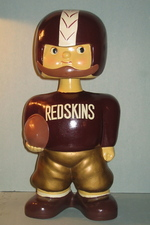 1960 Redskins promotional bobblehead