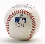 Ball hit by Barry Bonds for his 756th home run