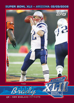 Tom Brady Super Bowl card