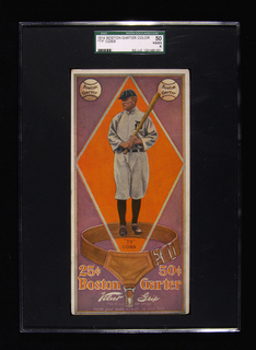 1913 Boston Garter Ty Cobb