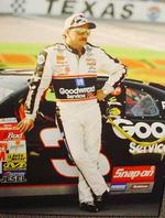 This suit worn by Dale Earnhardt in 1996 has apparently been stolen