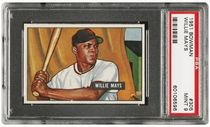 1951 Bowman Willie Mays PSA 9