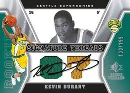 Kevin Durant Signature Threads card