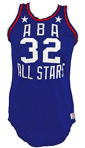Julius Erving\'s 1976 ABA All Star Game Jersey