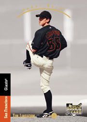 2007 Upper Deck SP Tim Lincecum rookie card with 1993 design