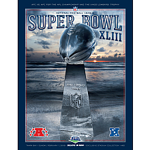Super Bowl 43 program