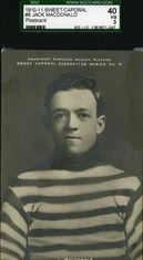 1910-11 Sweet Caporal hockey card