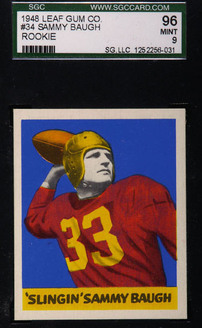 1948 Leaf Sammy Baugh