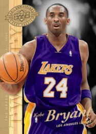 Upper Deck 20th anniversary Kobe Bryant card