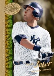 Upper Deck 20th Anniversary Derek Jeter card