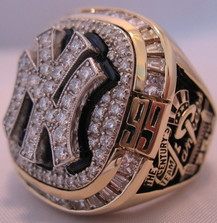 1999 Yankees World Series ring