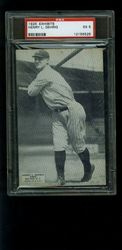 1925 Lou Gehrig Exhibit card