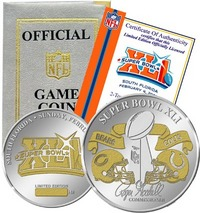 Highland Mint Super Bowl Flip Coin