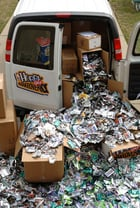 SMP Sportscards collected 61,000 wrappers from NBA trading cards to win the contest
