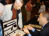 Hunt Auctions held a sports memorabilia appraisal at the Louisville Slugger Museum