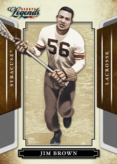 Donruss Americana Sports Legends Jim Brown