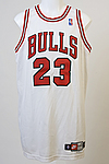 Game Used Michael Jordan jersey