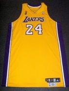 Kobe Bryant game worn jersey