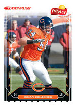 Frito Lay Brian Urlacher card