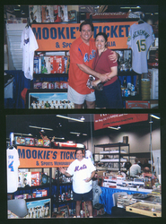 Sports card and memorabilia dealers Lenny and Tammi Steren