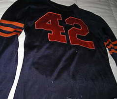 1946 Sid Luckman game worn jersey