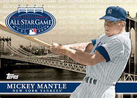 All Star Fan Fest Mickey Mantle card