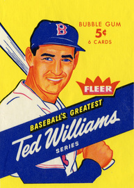 1959 Fleer Ted Williams wrapper