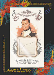 2009 Topps Allen & Ginter Napoleon hair card