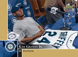 2009 Upper Deck Ken Griffey Jr. Mariners card