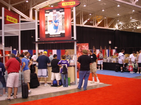 2009 National Sports Collectors Convention corporate booths