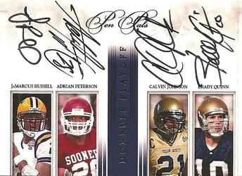 Donruss National Treasures autographed card