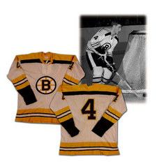 A game-used Bobby Orr jersey has been consigned to a sports memorabilia auction house