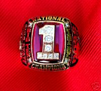 Ohio State football national championship ring sold on eBay
