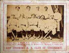 1869 Peck and Snyder Reds card