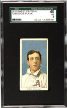 T206 Eddie Plank sold by Heritage Auctions