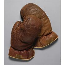 Gene Tunney gloves from 1927