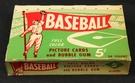 1954 Bowman wax box