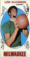 1969-70 Topps Lew Alcindor rookie card