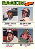 1977 Topps Andre Dawson