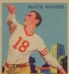 1935 National Chicle Beattie Feathers
