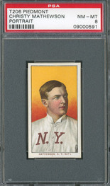 T206 Christy Mathewson PSA 8