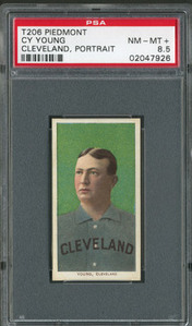 T2-6 Cy Young PSA 8.5